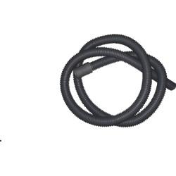 Mangueira Saída de Máquina de Lavar 1.550mm Bocal Reto 22mm Cinza