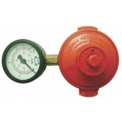Regulador Industrial Alta Pressão 76501/01 9Kgs/h c/Manômetro VMM