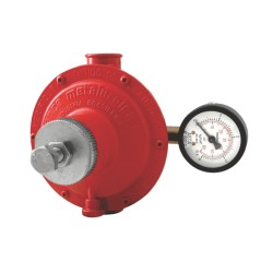 Regulador Industrial Alta Pressão 76511/02 15Kgs/h c/Manômetro VMM