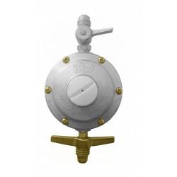 Regulador Semi Industrial 506/18 Segundo Estágio Baixa Pressão Vazão 5kgs para Medidores de Gás